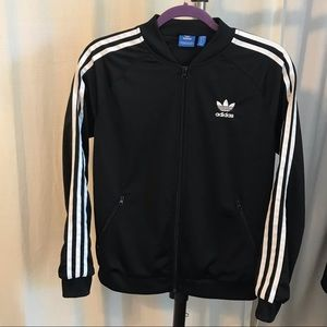 ADIDAS Black and White Track Jacket